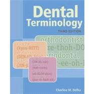 Dental Terminology,9781133019718
