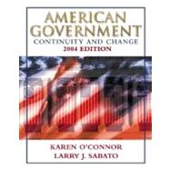 American Government: Continuity and Change, 2004 Edition (Paperback) w/LP.com 2.0