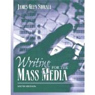Writing For The Mass Media,9780205449729