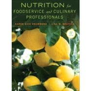 Nutrition for Foodservice and Culinary Professionals,9781118429730