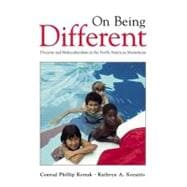 On Being Different : Diversity and Multiculturalism in the North American Mainstream,9780070359734