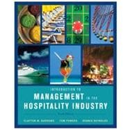 Introduction to Management in the Hospitality Industry, 10th Edition,9780470399743