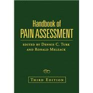 Handbook of Pain Assessment, Third Edition, 9781606239766  