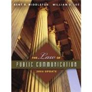 The Law of Public Communication 2006 Edition