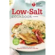 American Heart Association Low-Salt Cookbook, 4th Edition,9780307589781