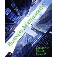 Business Mathematics, 9780135109786  