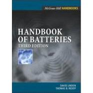 Handbook of Batteries,9780071359788