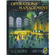 Operations Management: Strategy and Analysis