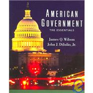 American Government Institutions and Policies: The Essentials