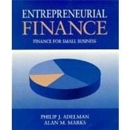 Entrepreneurial Finance: Finance for Small Business