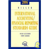Miller International Accounting / Financial Reporting Standards Guide 2006,9780808089872