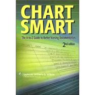 Chart Smart The A-to-Z Guide to Better Nursing Documentation,9781582559872