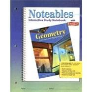 Geometry : Concepts and Applications, Noteables - Interactive Study Notebook with Foldables