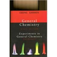 Lab Manual for Ebbing/Gammon's General Chemistry, 9th,9780618949885