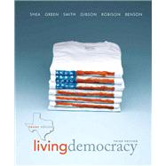 Living Democracy, Texas Edition Plus MyPoliSciLab -- Access Card Package with eText -- Access Card Package,9780205839919