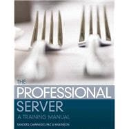 The Professional Server A Training Manual,9780131709928