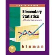 Elementary Statistics : A Brief Version,9780072349931