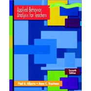 Applied Behavior Analysis For Teachers