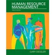 Human Resources Management,9780136089957