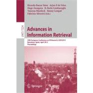 Advances in Information Retrieval : 34th European Conference..., 9783642289965