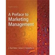 Preface to Marketing Management, 9780073529967  