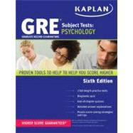GRE Subject Test Psychology, 9781607149972  