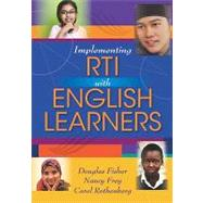 Implementing Rti With English Learners, 9781935249979