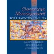 Classroom Management for Elementary Teachers,9780205349982