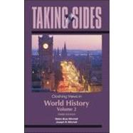 Taking Sides: Clashing Views in World History, Volume 2: The Modern Era to the Present,9780078049996