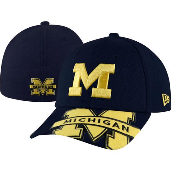 Michigan Wolverines New Era Jr. Melviz Classic Toddler Flex Hat
