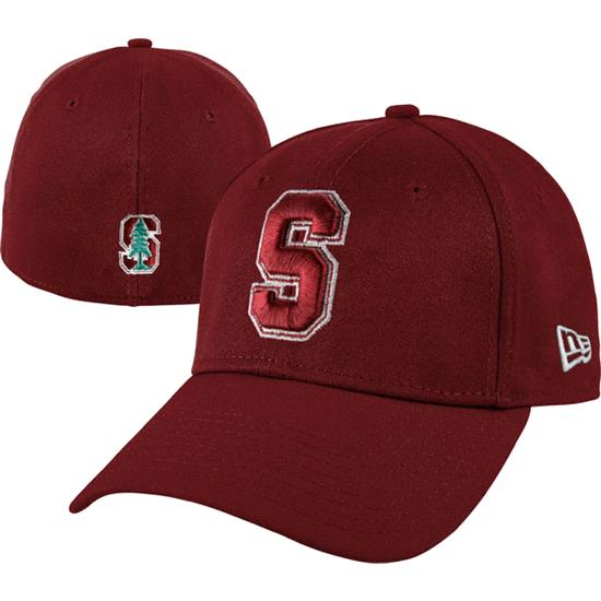 Stanford Cardinal New Era Cardinal 39THIRTY Classic Flex Hat