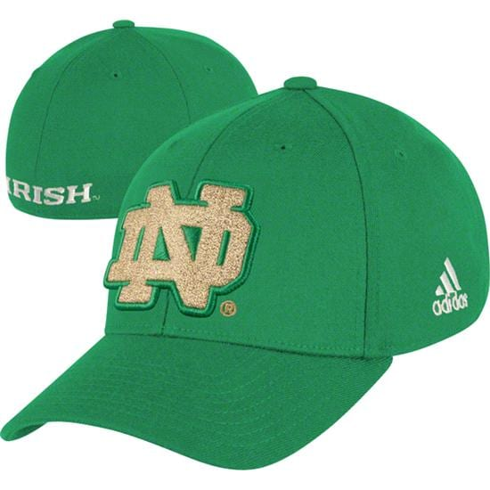 Notre Dame Fighting Irish Emerald Isle Classic Kelly Green Flex Hat