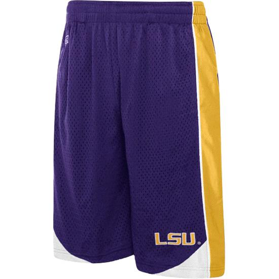 LSU Tigers Youth Vector Workout Short
