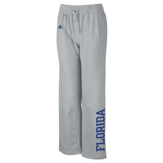 Florida Gators adidas Women's Grey Word Plus Stretch Fleece Pants