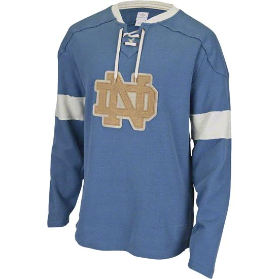 Notre Dame Fighting Irish adidas Vintage Vault Lightweight French Terry Sweatshirt