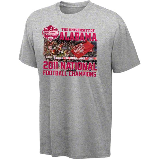 Alabama Crimson Tide Youth 2011 BCS Football National Champions Play Of The Game T-Shirt