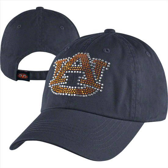 Auburn Tigers Women's Butterfly Bling Adjustable Hat