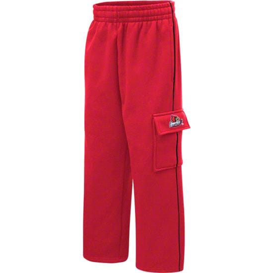 Louisville Cardinals Youth Red Automatic Cargo Pants