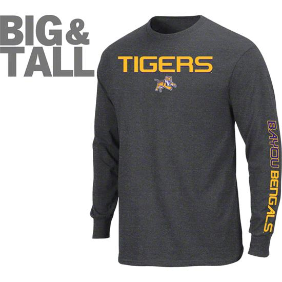 LSU Tigers Big & Tall Class Long Sleeve T-Shirt