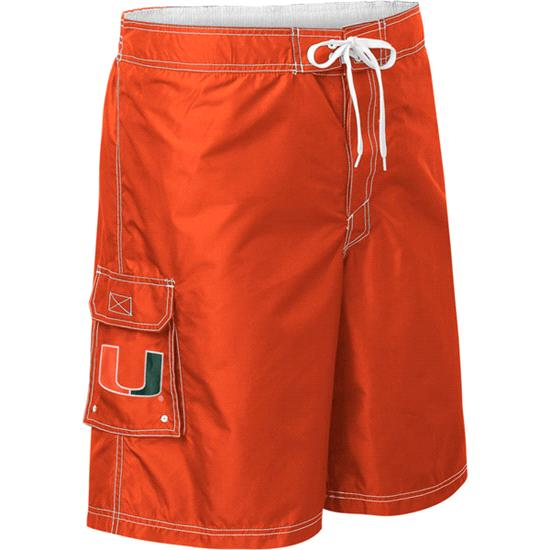 Miami Hurricanes Upper Deck Swim Trunks
