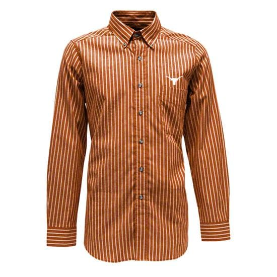 Texas Longhorns Dark Orange Team Woven Dress Shirt