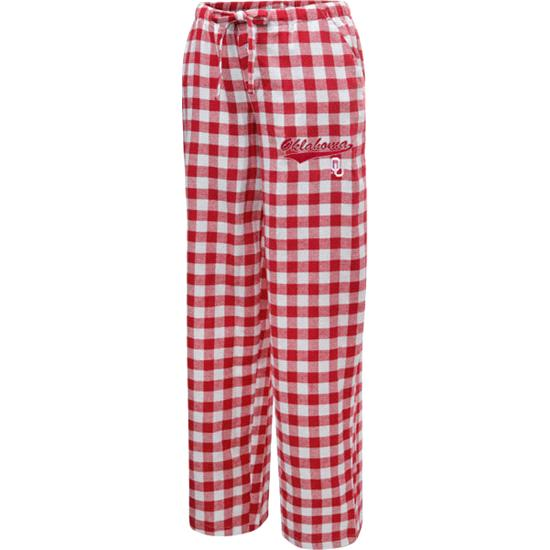 Oklahoma Sooners Women's Paramount Flannel Pants
