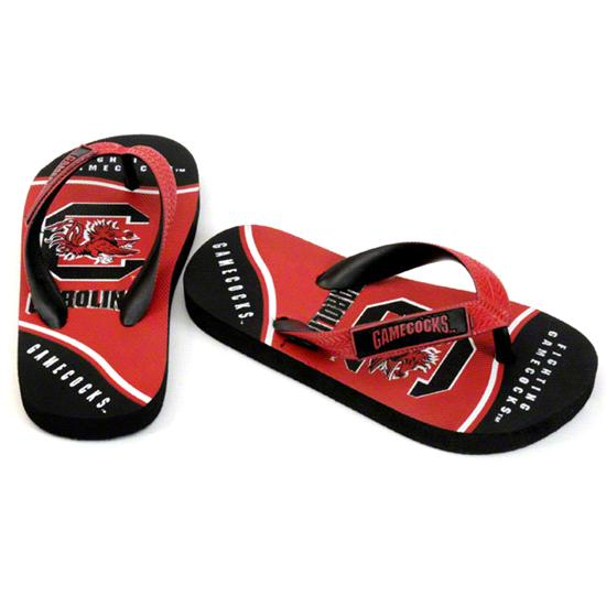 South Carolina Gamecocks Youth Zori Flip Flops