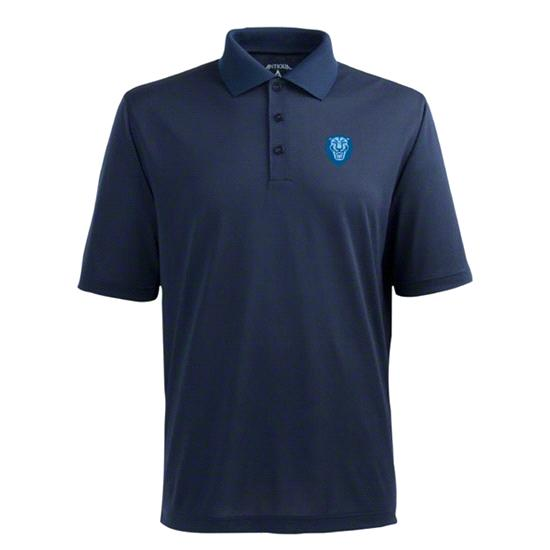 Columbia Lions Navy Pique Extra Light Polo Shirt