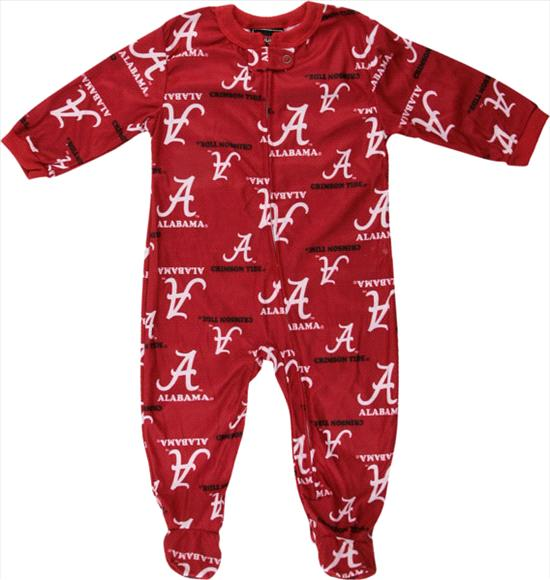 Alabama Crimson Tide adidas Cardinal Infant Full Zip Raglan Coverall