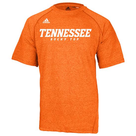 Tennessee Volunteers adidas Tenn Orange Youth Heathered Speedwick T-Shirt