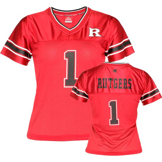 Rutgers Scarlet Knights Women's Stadium Football Jersey