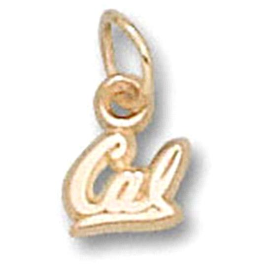 California Golden Bears 10K Gold ''CAL'' 3/16'' Pendant
