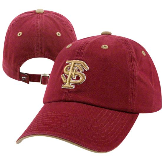 Florida State Seminoles Team Color Crew Adjustable Strapback Hat