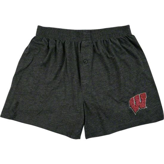 Wisconsin Badgers 101 Tri-Blend Boxer Short